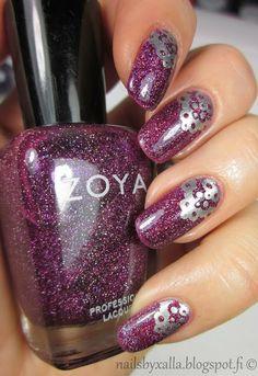 Nails by Xalla: Zoya - Aurora & stamping