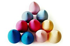 There are porous and rough makeup sponges perfect for removing makeup. These sponges are highly absorbent and easily remove even the stubborn makeup