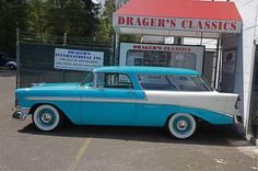 Car Magazine,Chevrolet photos and listings 1954 Chevy Bel Air, 1957 Chevrolet, Chevy Nomad, Classic Car Restoration, Classy Cars, Fancy Cars, Hot Rod Trucks, Vintage Trucks, Station Wagon