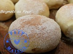 Beignets au Four ( au Thermomix ) - . Dessert Thermomix, Thermomix Bread, Cooking Chef, Fun Cooking, Beignets Au Four Thermomix, Crepes, Omelette Muffins, Mousse, Dacquoise