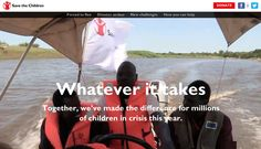 Whatever it takes, Save The Children