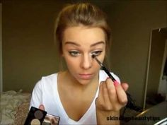 Everyday Makeup ♡. Love her video great eye makeup will try!!!