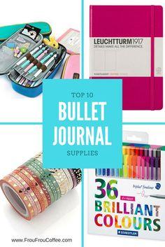 Top 10 Bullet Journal Supplies