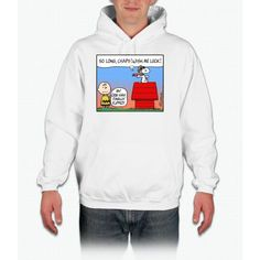 Flying Ace's Farewell Charlie Brown Hooded Sweatshirt