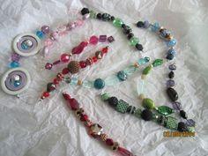 Stash buster bead ornaments