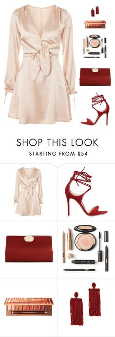 """""""Untitled #4990"""" by mdmsb on Polyvore featuring Oh My Love, Gianvito Rossi, MANGO, Urban Decay and Oscar de la Renta"""
