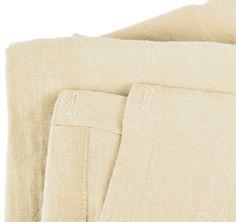 Natural Cotton Shower Curtain Liner Plastic Free Pinterest