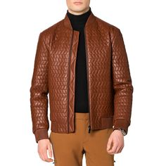 Leather Quilted Blouson view 7