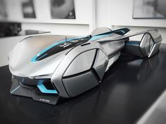 Cardesign World Instagram: «MG Robo-01 by Dennis Cheng @dennisisii from China Academy of Art #cardesign #car #design #mockup…»