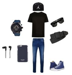 """""""Cool men"""" by adnana544 ❤ liked on Polyvore featuring True Religion, MOS, Jordan Brand, Yves Saint Laurent, Converse, Dsquared2, B&O Play, men's fashion and menswear"""
