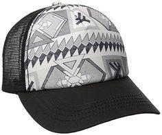 Billabong Juniors' Tiles N Tides Hat,  Off Black,  One Size, Off Black, One Size