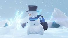 Animated Christmas Pictures, Christmas Images, Diy Christmas Gifts, Christmas Snowman, Merry Christmas, Christmas Decorations, Happy Birthday Drawings, Disney Princess Frozen, Creative Video