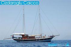Cizdaroglu Caicco a Lipari - Sicilia