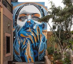 Beautiful work by @dourone in Marrakesh Morocco (http://globalstreetart.com/dourone) #globalstreetart #dourone