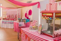 """Photo 1 of 12: carnival party / Birthday """"Kaitlin's Pretty in Pink 1st Birthday"""" 