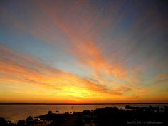 Sunrise (taken from my window)