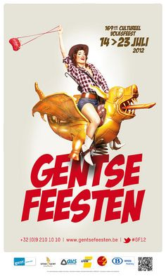 gentse feesten posters - Google zoeken