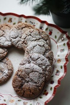 Minttusuklaakeksit Finnish Recipes, No Bake Cookies, Baking Cookies, Piece Of Cakes, Something Sweet, I Love Food, Sweet Recipes, Food And Drink, Cooking Recipes