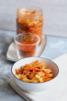 Kimchi Thermomix - Thermomix Przepisy Kimchi, Shrimp, Chili, Vegan, Thermomix, Chile, Chilis, Vegans