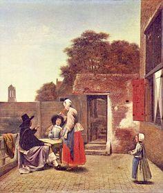 Pieter de Hooch - Wikipedia, la enciclopedia libre