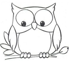 Coloring Page 2018 for Coloriage Hibou, you can see Coloriage Hibou and more pictures for Coloring Page 2018 at Children Coloring. Owl Patterns, Applique Patterns, Art Drawings For Kids, Easy Drawings, Drawing Ideas, Simple Owl Drawing, Cute Owl Drawing, Drawing Drawing, Colouring Pages