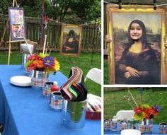 Image result for how to turn my yard into the louvre for a party