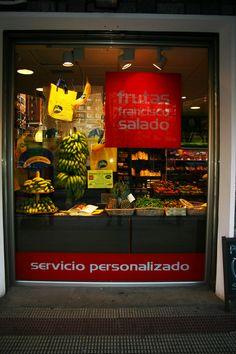 Promoción Plátano de Canarias. #comercio #Bilbao
