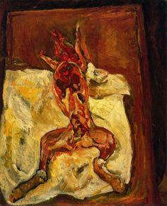 El conejo despellejado (1922), Chaim Soutine