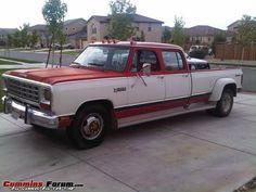 Cummins Forum Garage - 1985 D-350 Crew Cab CTD Cummins Diesel Trucks, Dodge Pickup, Garage, Carport Garage, Garages, Car Garage, Carriage House