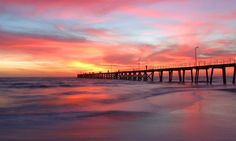 """Port Noarlunga, South Australia """"And let the peace of God rule in your hearts. Beautiful Sunset, Life Is Beautiful, Beautiful Scenery, Beautiful Places In The World, Places Around The World, Aurora, Cool Photos, Interesting Photos, Relaxing Places"""