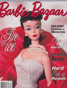 Dec 2003 Barbie Bazaar Vintage Doll Magazine | eBay