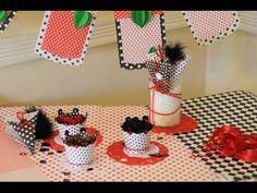 Como decorar un cumpleaños con Cartulinas - Souvenirs - Maria Jose Roldan