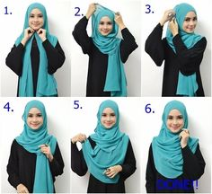 Beautiful Everyday Hijab Tutorial For Beginners