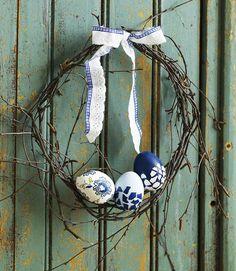 Askartele pääsiäiseksi.  DIY/Easter eggs craft ideas Kuva Pekka Ailio