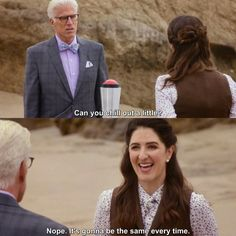 The Good Place - Michael: Can you chill out a little? The Good Place Chidi, Janet The Good Place, The Good Place Netflix, Ted, Call The Midwife, Funny Scenes, Everything Is Fine, Funny As Hell, Work Humor