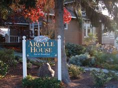 Argyle House Bed and Breakfast; San Juan Island WA (orcas)