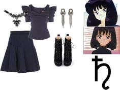 Sailor Moon inspired fashion and styles Please feel free to submit stuff, we need it. Casual Cosplay, Cosplay Outfits, Anime Outfits, Sailor Moon Outfit, Sailor Moon Cosplay, Sailor Moon Collectibles, Moon Clothing, Anime Inspired Outfits, Sailor Saturn
