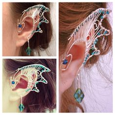 Hey, I found this really awesome Etsy listing at http://www.etsy.com/listing/177078023/pair-of-wire-dragon-ear-cuffs