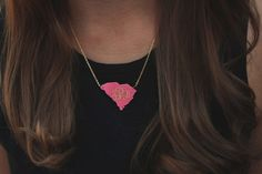 Home State Monogram Necklace