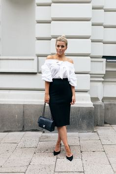 Linda Juhola - Ps. I love fashion  This outfit is so elegant! Must copy for a date night