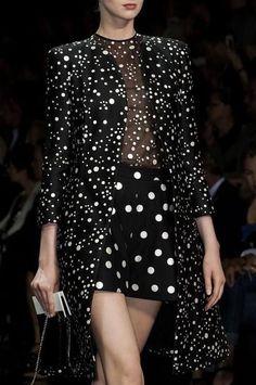 Polka dots overload. So good!