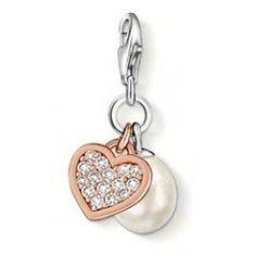 Thomas Sabo Pearl Heart Chain