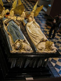 Jean de Marville, Claus Sluter, Claus de Werve - Tomb of Duke John the Fearless and Margaret of Bavaria