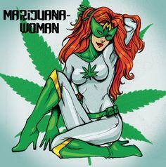 cannabis art - Marijuana Woman by Tsukiko88 on DeviantArt  tsukiko88.deviantart.com