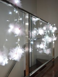 These Fairy lights make for a great DIY Project for mom and daughter, and look great in her bedroom!