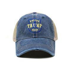 Police for Trump Dad Hat Police Hat, Police Officer, Baseball Buckets, Baseball Cap, Trump Hat, Denim Hat, Snap Backs, Dad Hats, Hats For Men