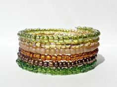 Hey, I found this really awesome Etsy listing at https://www.etsy.com/listing/200036383/memory-wire-warm-spring-colors-bracelet