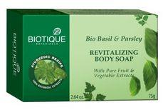 Biotique Bio Basil & Parsley Revitalizing Body Soap