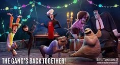 First look images from the animated comedy sequel Hotel Transylvania starring Adam Sandler, Selena Gomez and Andy Samberg Adam Sandler, Hotel Transylvania 2 Movie, Family Friendly Halloween Movies, Cumple Toy Story, Coming To Theaters, Famous Monsters, 3 Movie, Columbia Pictures, Entertainment