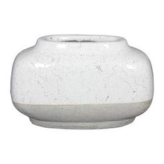 $24.99 At Home Picture of 2 Tone Finish White Vase - 12in